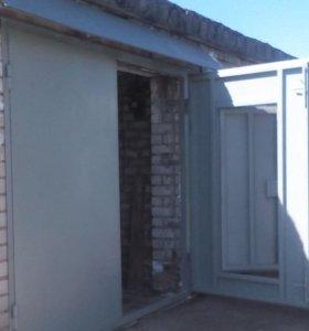 Продам Ворота гаражные 3 х 2.5 м. Металлические
