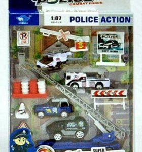 Набор металл Полиция