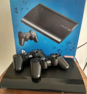 Sony Playstation 3 500GB + 45 игр, fifa 18, GTA 5