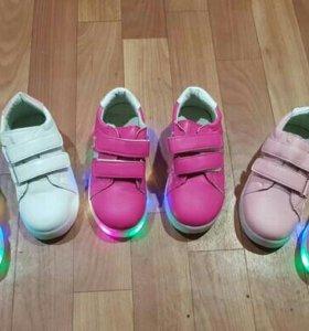 Кеды, кроссовки на мальчика и девочку НОВЫЕ