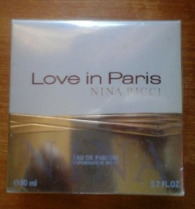 Парфюм Nina Ricci - Love in Paris
