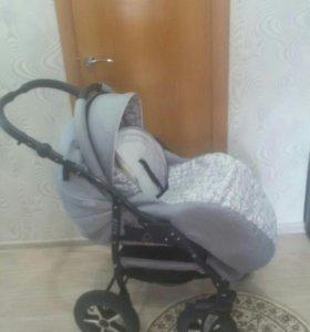 Детская коляска зиппи 2в1
