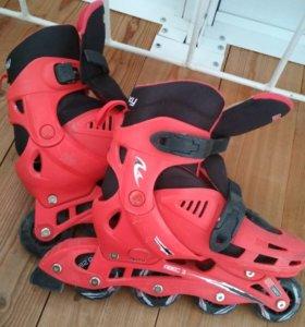 Ролики шлем защита