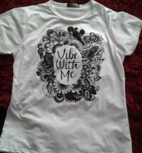 Новая футболка женская