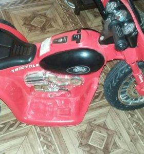 Электромобиль(мотоцикл)