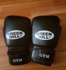 Боксерские перчатки Green Hill GYM 12 O.Z.