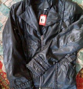 Новая куртка 48р