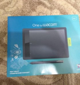Графический планшет Wacom bamboo one small
