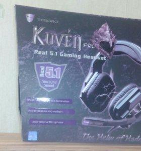 Игровые наушники Tesoro Kuven Pro 5.1