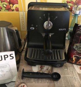 Кофемашина KRUPS новая Финляндия