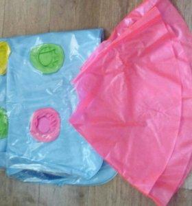 Надувной матрац и надувной круг