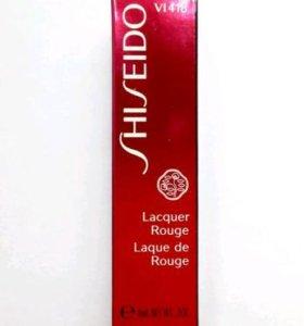 Лаковая помада Shiseido новая