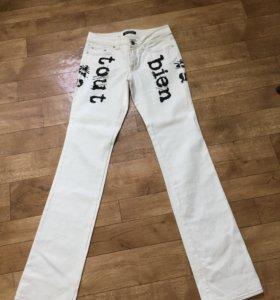 FERRE GF джинсы белые, оригинал, размер 29/43