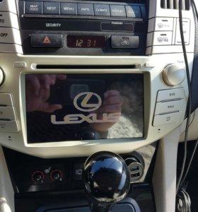 Штатное головное устройство Lexus RX300, RX330