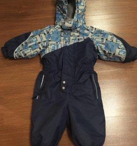 Зимний комбинезон для мальчика, размер 80
