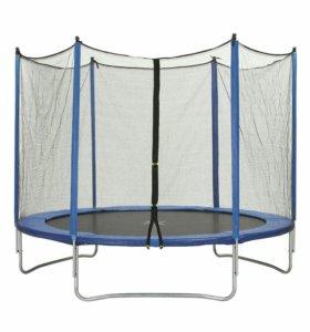 Trampoline 10ft 3м 05 см батут с защитной сеткой