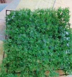 Коврик с искусственной травой