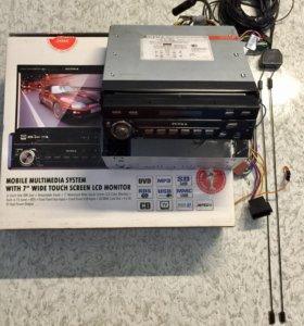 Магнитола с выдвижным дисплеем supra SWM-755