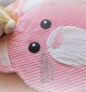детский плед коврик одеяло