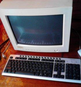 системный блок монитор мышь клавиатура