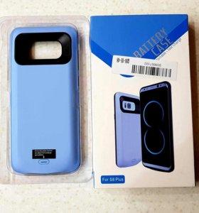 Бампер-аккумулятор для Samsung Galaxy S8+ 5500mAh
