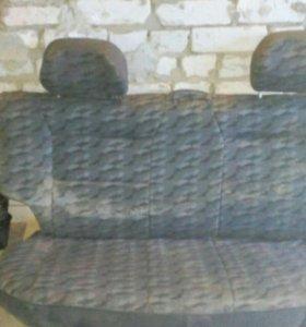 Задний диван ваз 2108-09