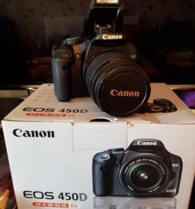 Цифровая зеркальная камераCANON EOS-450D