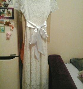 Гипюровое платье,новое