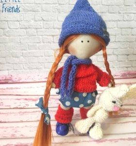 Портретные текстильные куколки