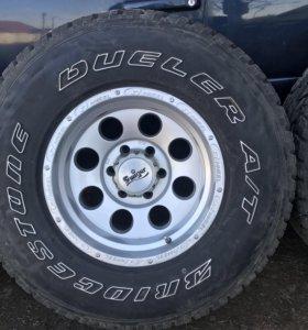 Продам колёса 285/75R16 6*139,7