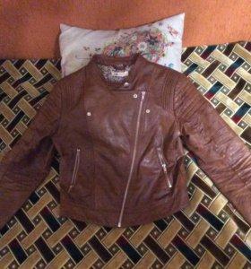 Куртка кожаная HM на девочку 158