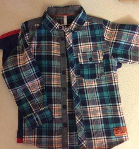 Рубашка на мальчика размер 104
