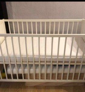 Кровать детская икея хенсвик