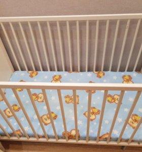 Кровать детская хенсвик
