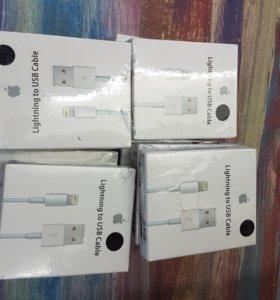 Кабеля для зарядки айфон и самсунг