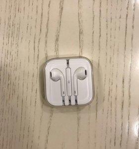 Оригинальные наушники Apple,новые👍