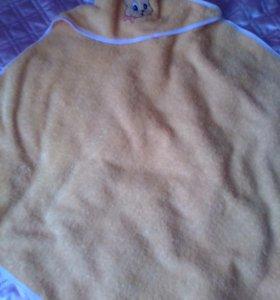 Полотенце новое махровое для малыша