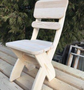 Деревянный Стул «Сказка» из массива дерева