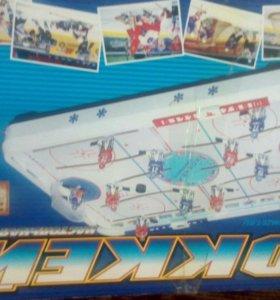 Игра. Настольный хоккей.