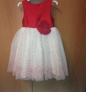 Платье с повязочкой для волос