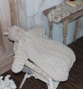 Велюровый спальник