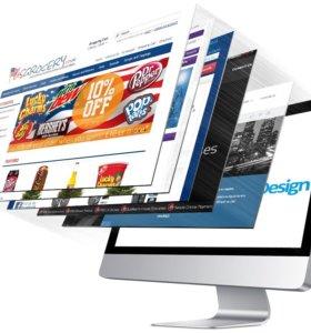 Сайты, группы VK, создание и продвижение