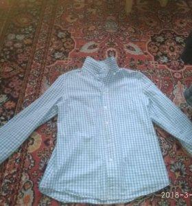 Рубашка для школы 158 см