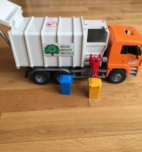 Машинка мусоровоз
