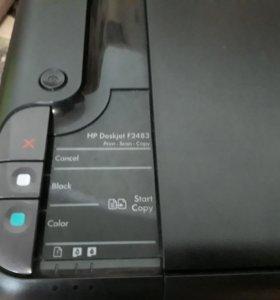 Продам принтер и монитор (можно поотдельности)