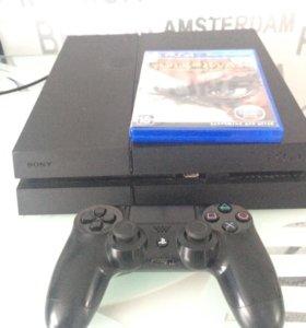 PlayStation 4,1TB,игра