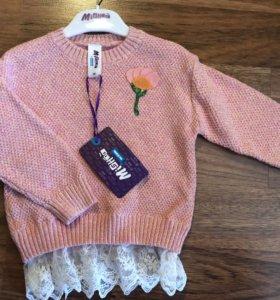 Джемпер свитер для девочки