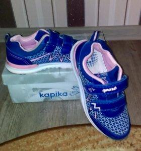 Кроссовки для девочки фирмы Kapika