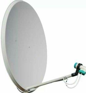Спутниковое тв, антенна 60см
