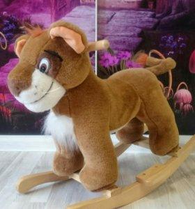Качалка игрушка Львенок